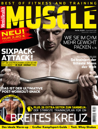 Men's Health MUSCLE (eingestellt) 01/2015