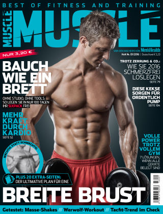 Men's Health MUSCLE (eingestellt) 01/2016