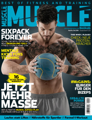 Men's Health MUSCLE (eingestellt) 04/2016