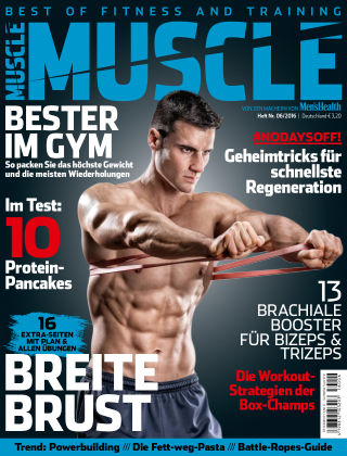 Men's Health MUSCLE (eingestellt) 06/2016