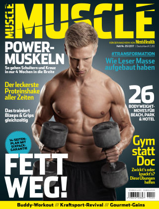 Men's Health MUSCLE (eingestellt) 05/2017