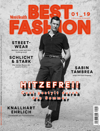 Men's Health Best Fashion 01 2019
