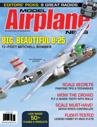 Model Airplane News Nov 2020