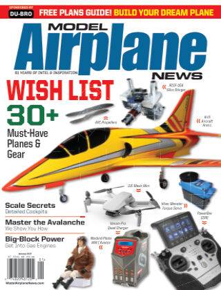 Model Airplane News January 2021