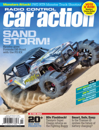 Radio Control Car Action March 2015