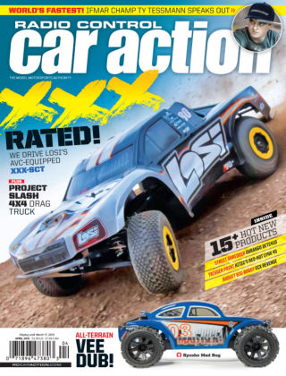 Radio Control Car Action April 2015