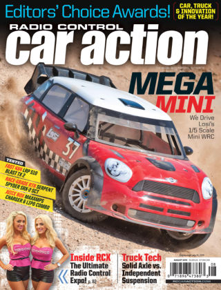 Radio Control Car Action August 2015