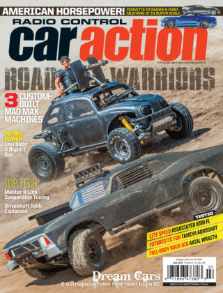 Radio Control Car Action July 2015