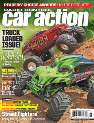 Radio Control Car Action September 2015