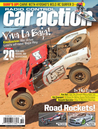 Radio Control Car Action Oct 2016