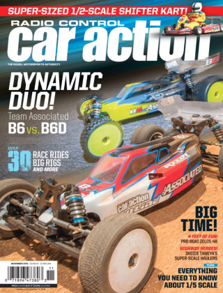Radio Control Car Action Nov 2016