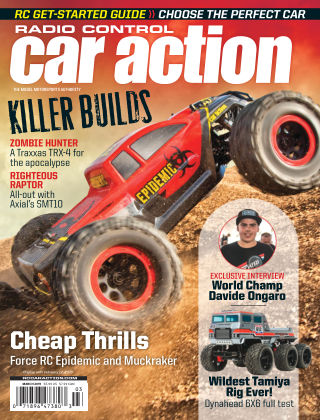 Radio Control Car Action Mar 2019