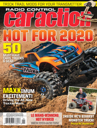 Radio Control Car Action Jan 2020