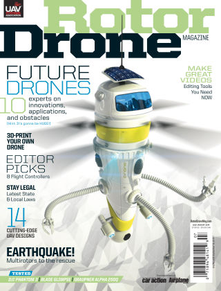 Rotor Drone July / August 2015