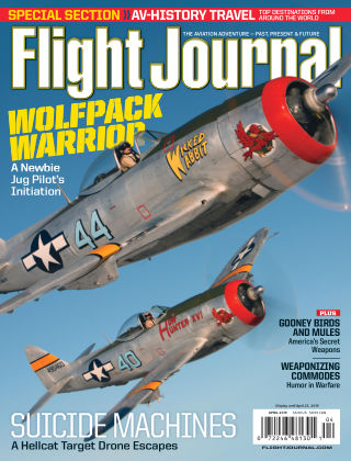 Flight Journal Apr 2019