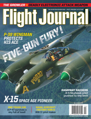 Flight Journal March April 2021