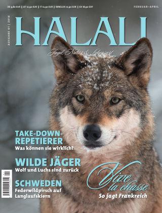 HALALI - Jagd, Natur und Lebensart Ausgabe 01 | 2016