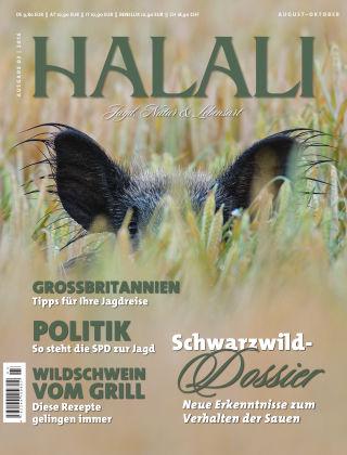 HALALI - Jagd, Natur und Lebensart Ausgabe 03 | 2016