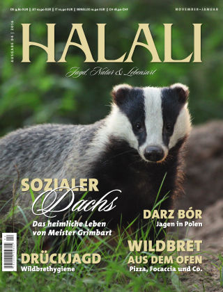 HALALI - Jagd, Natur und Lebensart Ausgabe 04 | 2016