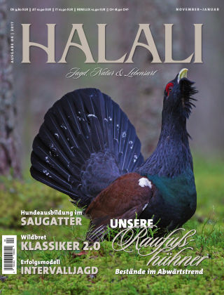 HALALI - Jagd, Natur und Lebensart 2017-10-26