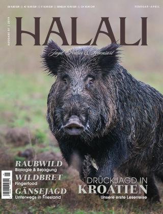 HALALI - Jagd, Natur und Lebensart Ausgabe 01 | 2019