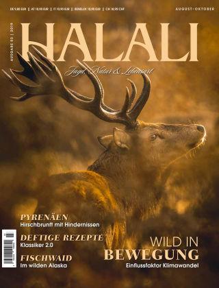 HALALI - Jagd, Natur und Lebensart Ausgabe 03 | 2019