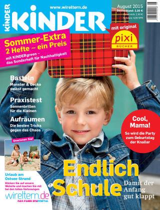 kinder! August 2015