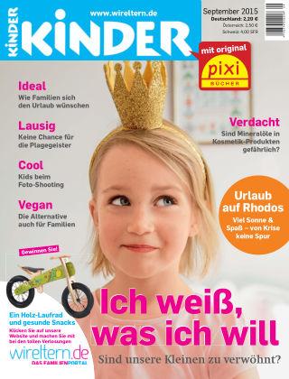 kinder! September 2015