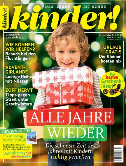 kinder! November 25, 2015 00:00