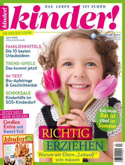 kinder! March 30, 2016 00:00