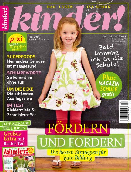 kinder! May 18, 2016 00:00