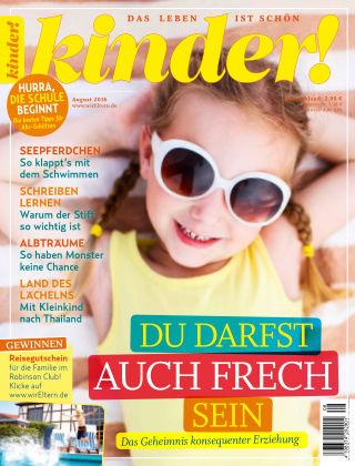 kinder! August 2016