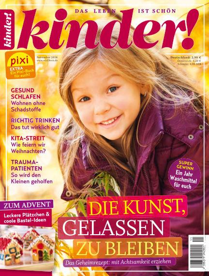 kinder! October 26, 2016 00:00