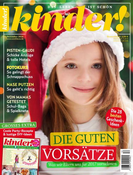 kinder! November 23, 2016 00:00