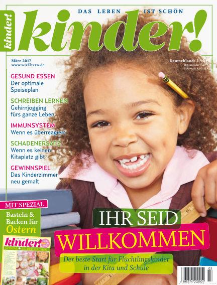 kinder! February 23, 2017 00:00