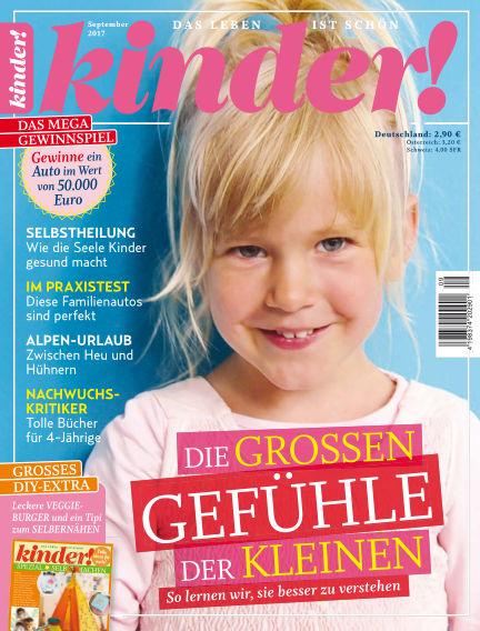 kinder! August 23, 2017 00:00