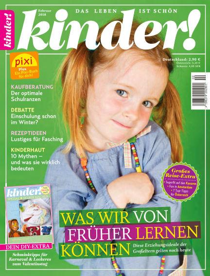 kinder! January 25, 2018 00:00