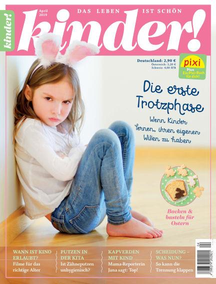 kinder! March 21, 2019 00:00