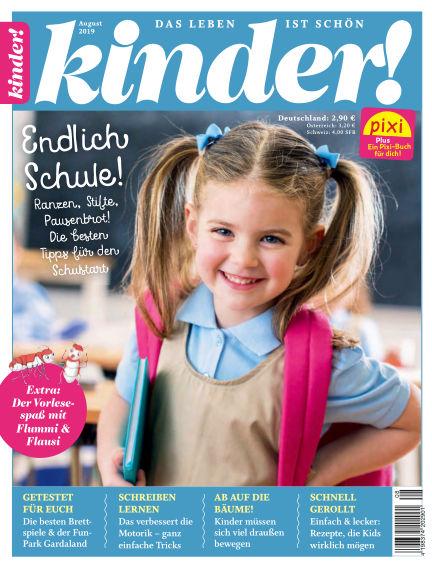 kinder! July 18, 2019 00:00