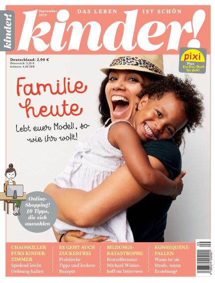 kinder! August 29, 2019 00:00