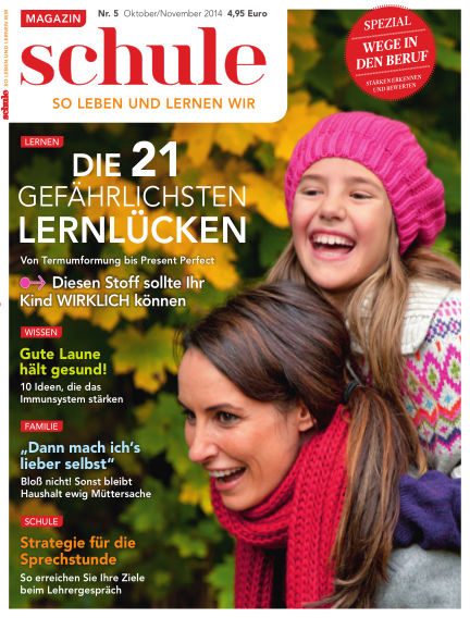 Magazin SCHULE October 07, 2014 00:00