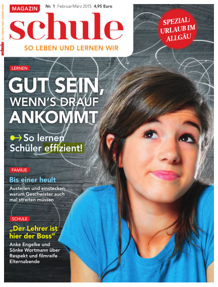 Magazin SCHULE January 13, 2015 00:00
