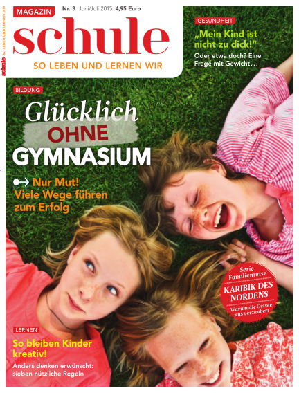 Magazin SCHULE May 12, 2015 00:00