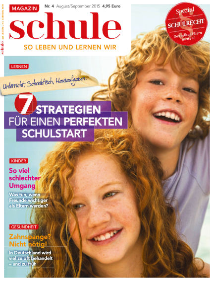 Magazin SCHULE August 15, 2015 00:00
