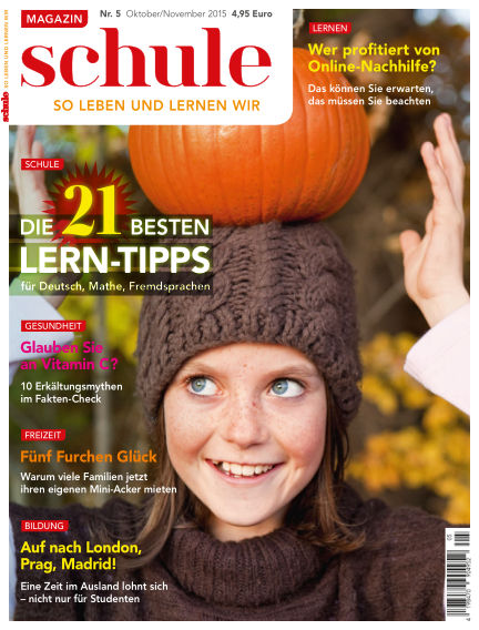Magazin SCHULE September 29, 2015 00:00
