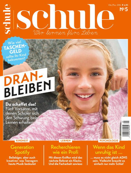 Magazin SCHULE September 20, 2016 00:00
