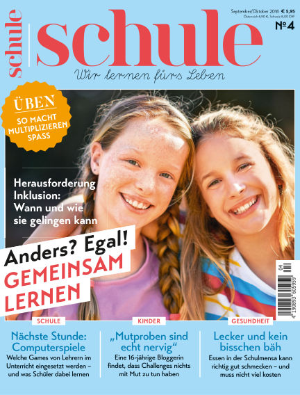 Magazin SCHULE August 23, 2018 00:00
