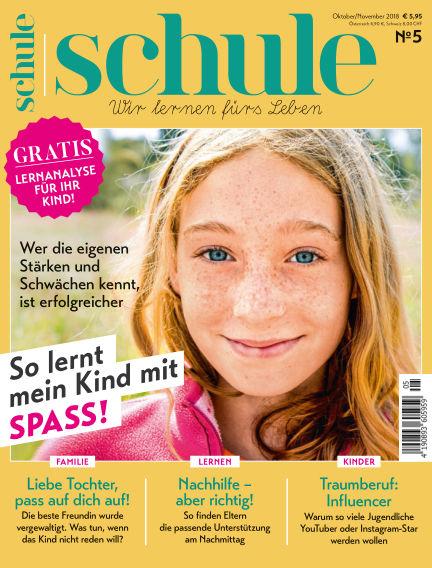 Magazin SCHULE October 10, 2018 00:00
