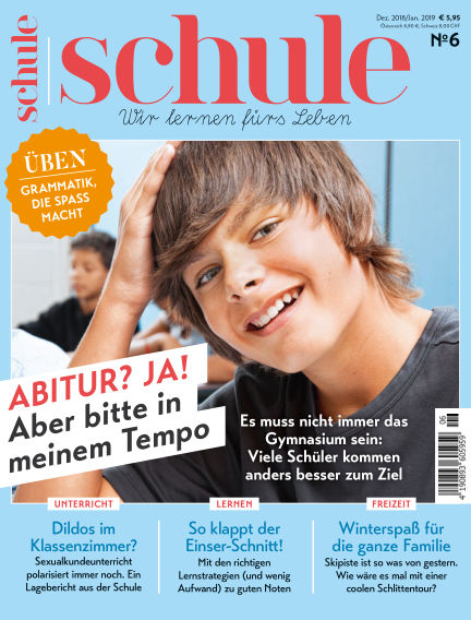 Magazin SCHULE November 29, 2018 00:00