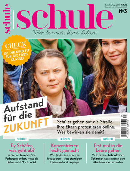Magazin SCHULE May 23, 2019 00:00